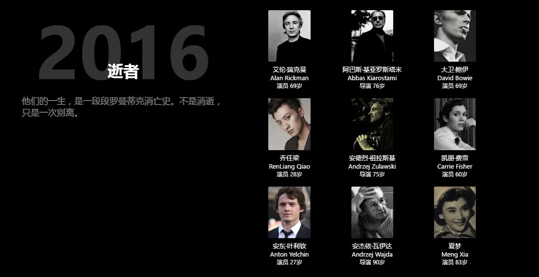 douban movie lost 2016