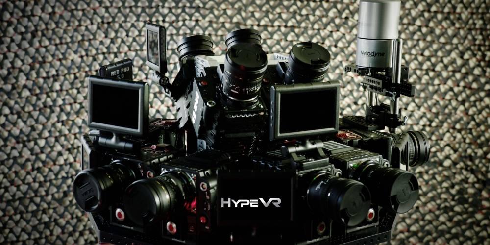<b>HypeVR容积捕获技术重塑空间全息影像 360°全景+高清+六自由度</b>
