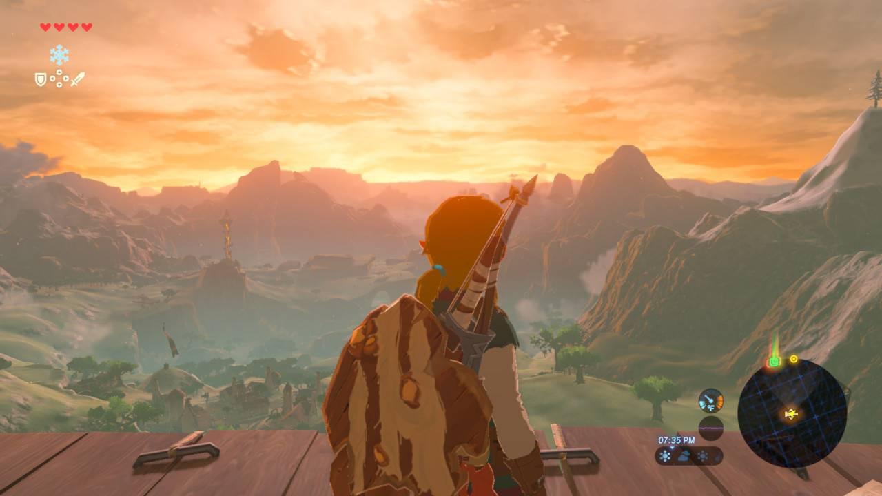 荒野之息展示了一个与PS4、Xbox One上不一样的游戏哲学