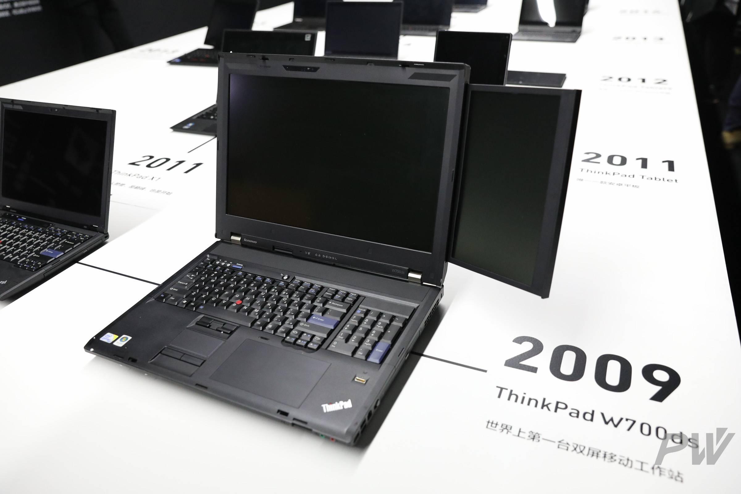ThinkPad W700ds,双屏工作站。