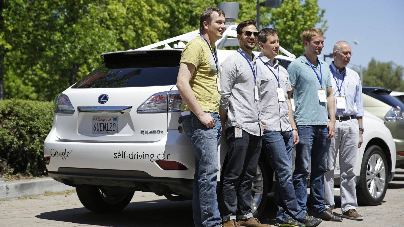 Google 自动驾驶创始团队