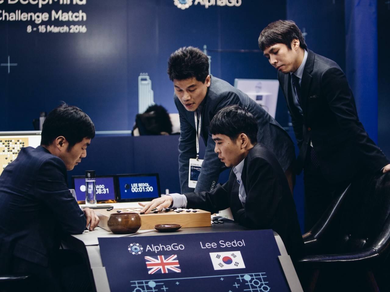 李世乭九段在韩国迎战AlphaGo