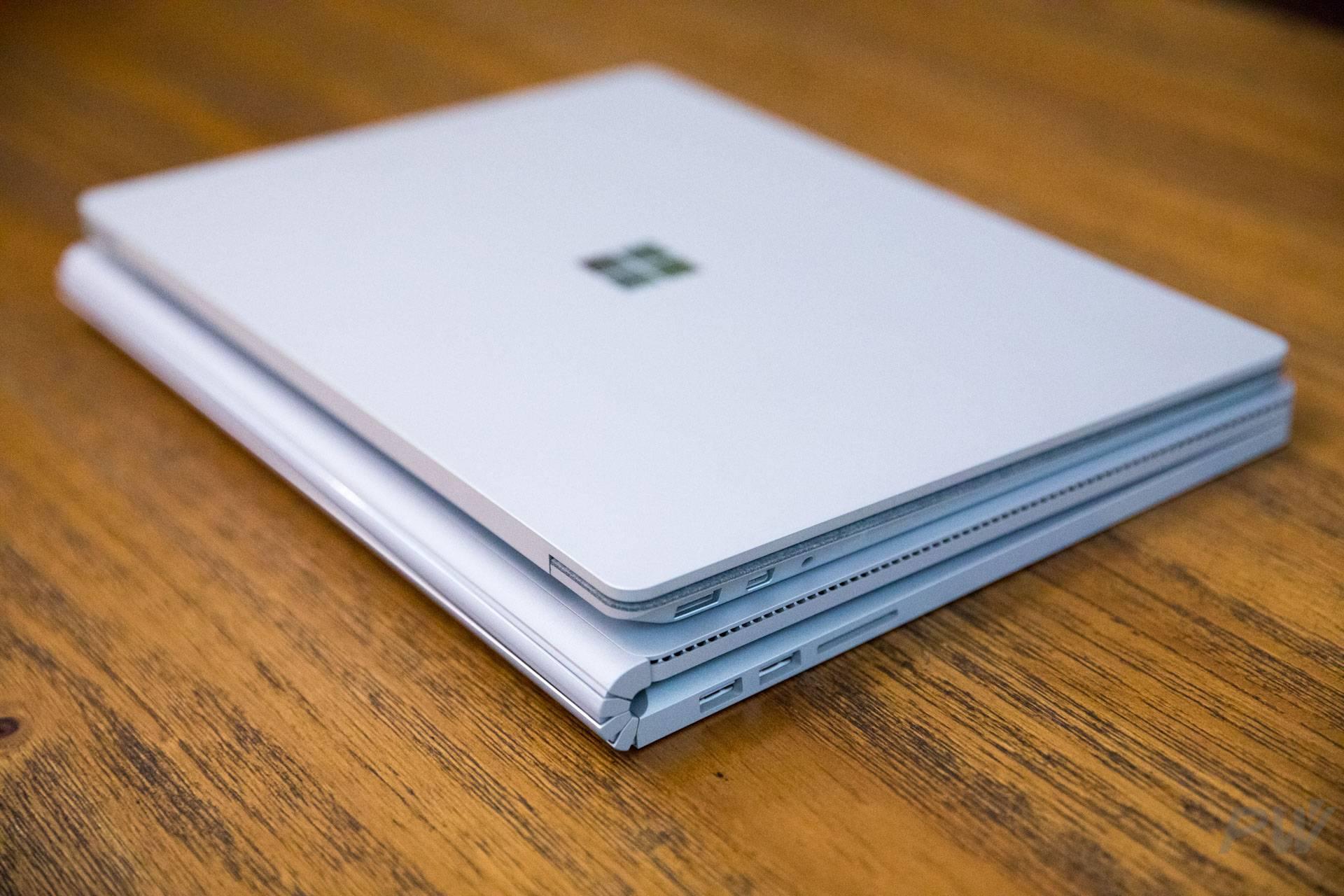Surface Laptop 和 Surface Book 被消费者报告移除推荐名单。