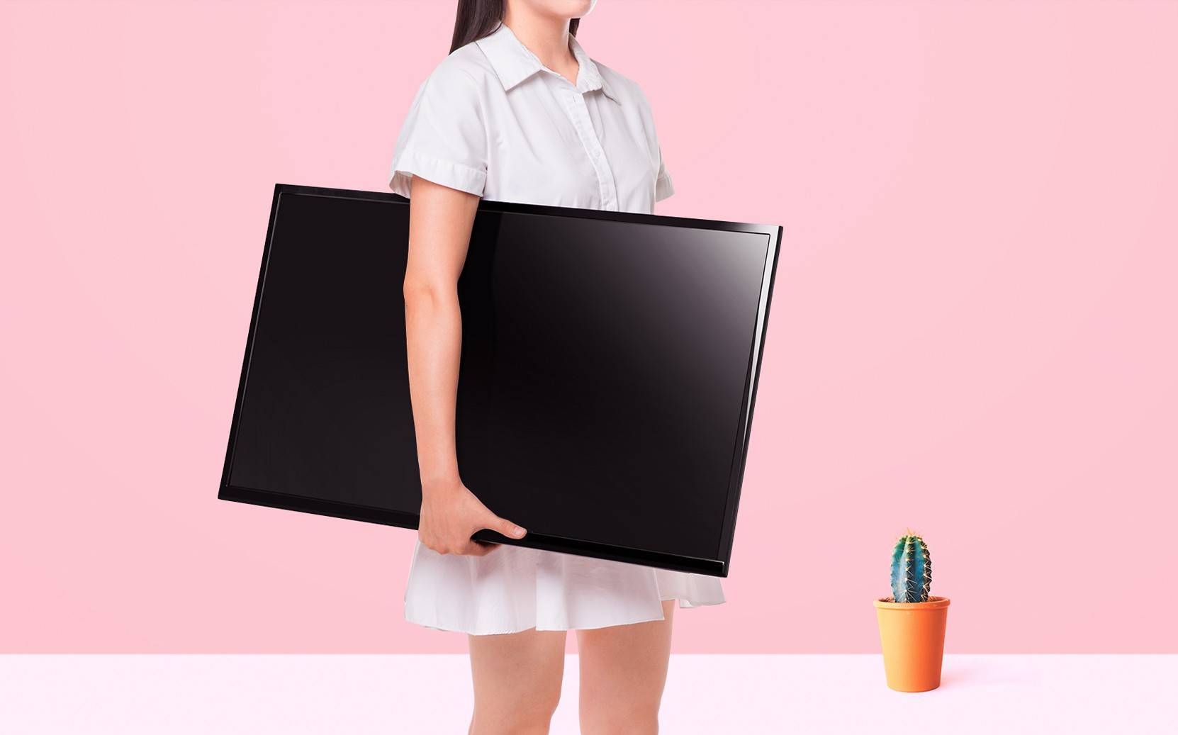 xiaomi 4A a tv you can carry with you when moving to another place