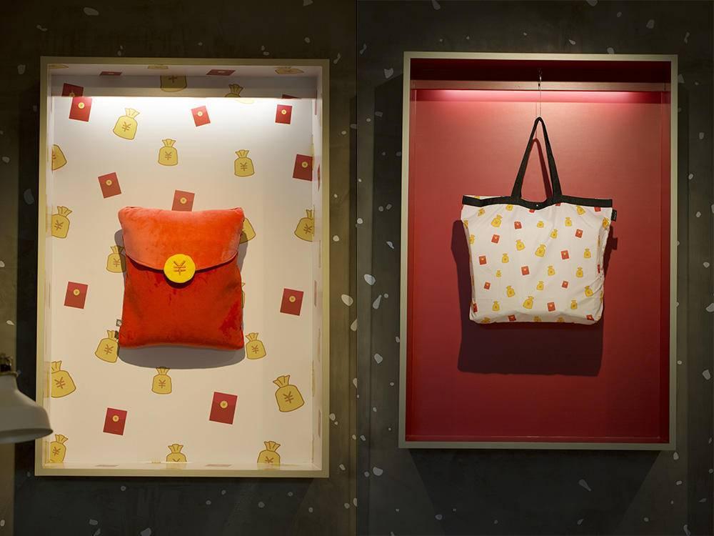 红包抱枕和红包环保袋