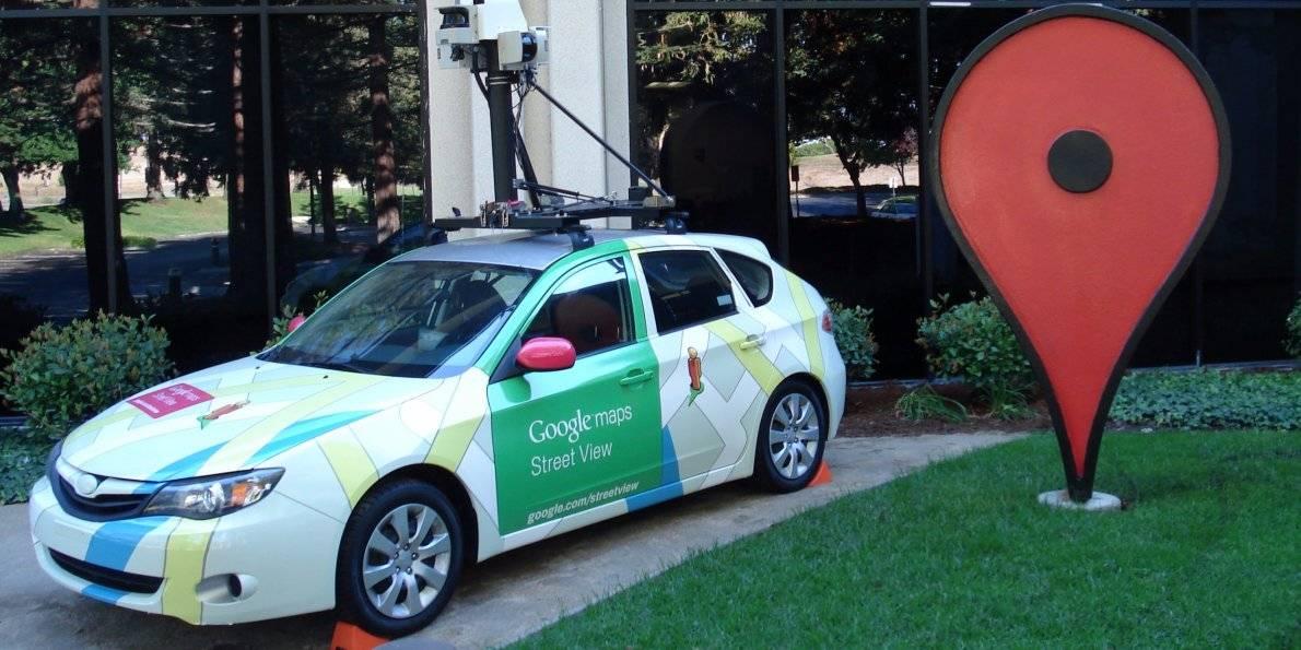 Google 街景汽车