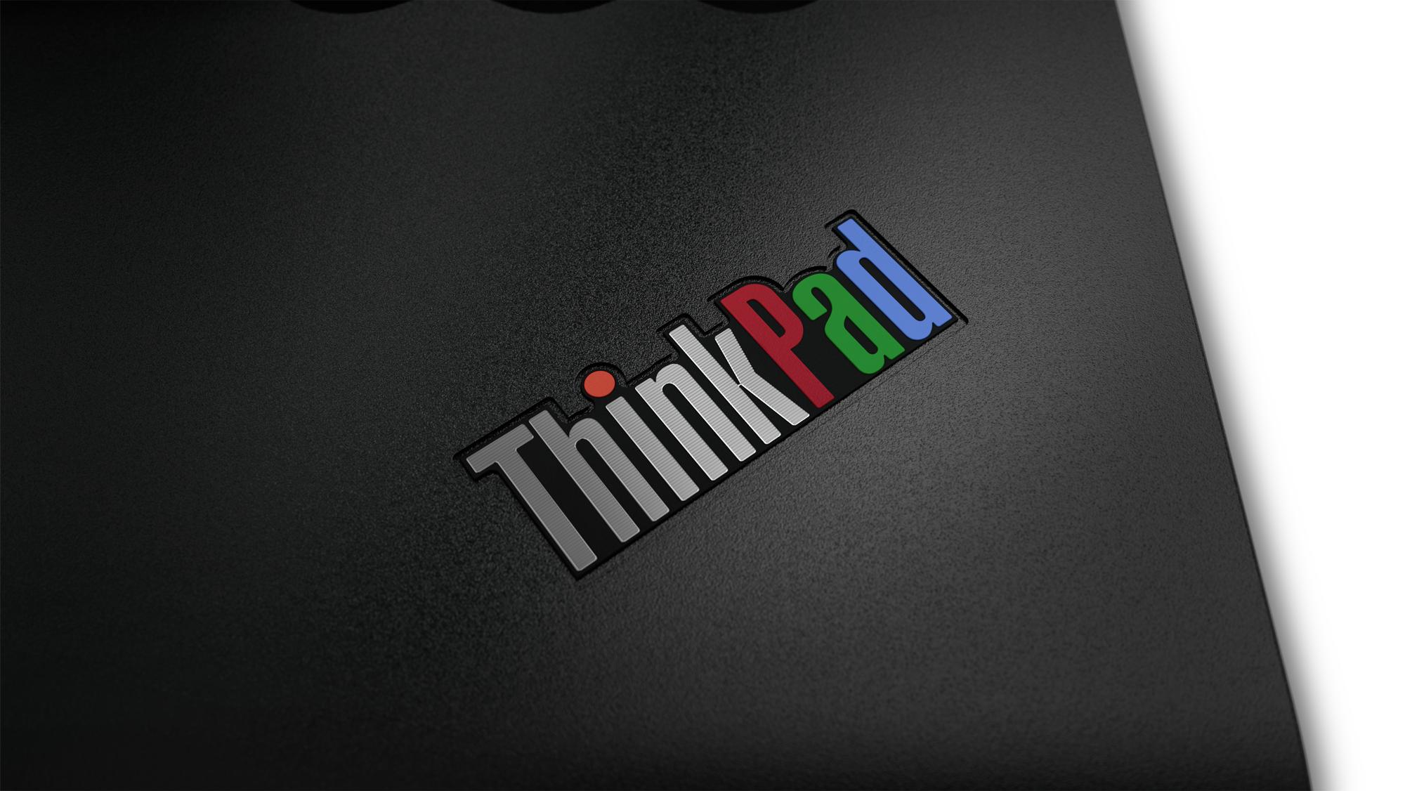 ThinkPad 25th anniversary retro hao Ying ThinkPad Logo