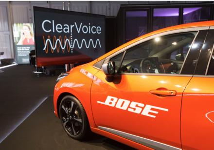 想把车里的声响给「接收」了,BOSE这次在CES上展出了什么奥秘新技能?