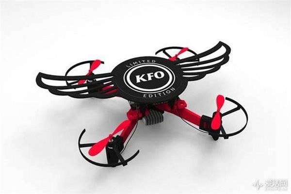 肯德基推限量版无人机:名为KFO