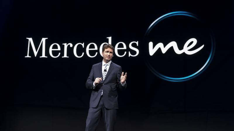 """梅赛德斯奔驰在展示新型S级Coupou的同时也发布了该公司有效利用互联网的全新服务""""Mercedes Me""""。"""
