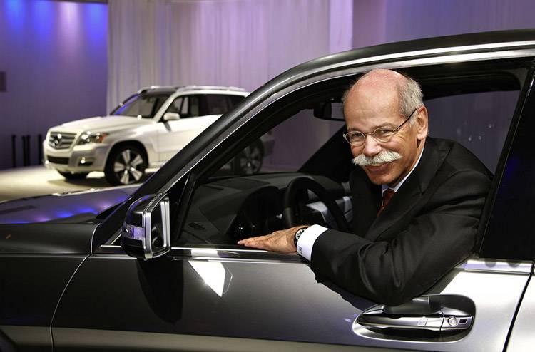 梅赛德斯-奔驰集团CEO Dieter Zetsche