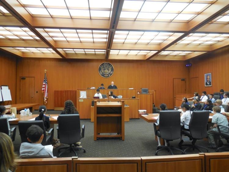 因为法庭中不允许拍照,我们附上了加州北区联邦法院的官方照片