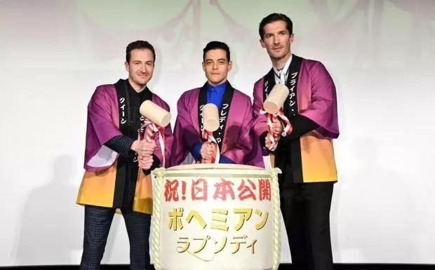 《波西米亚狂想曲》登顶2018年日本年度票房榜冠军