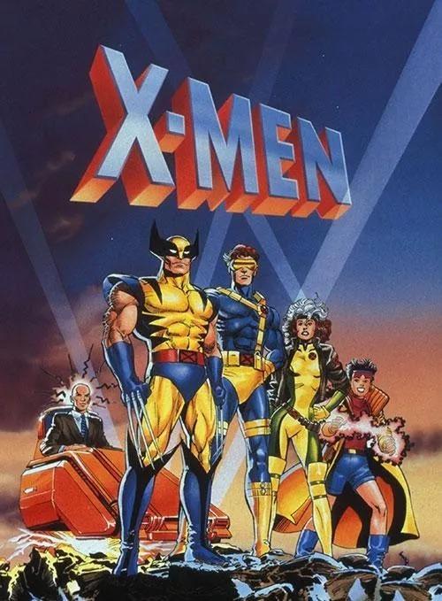 首播于1992年的《X战警》动画