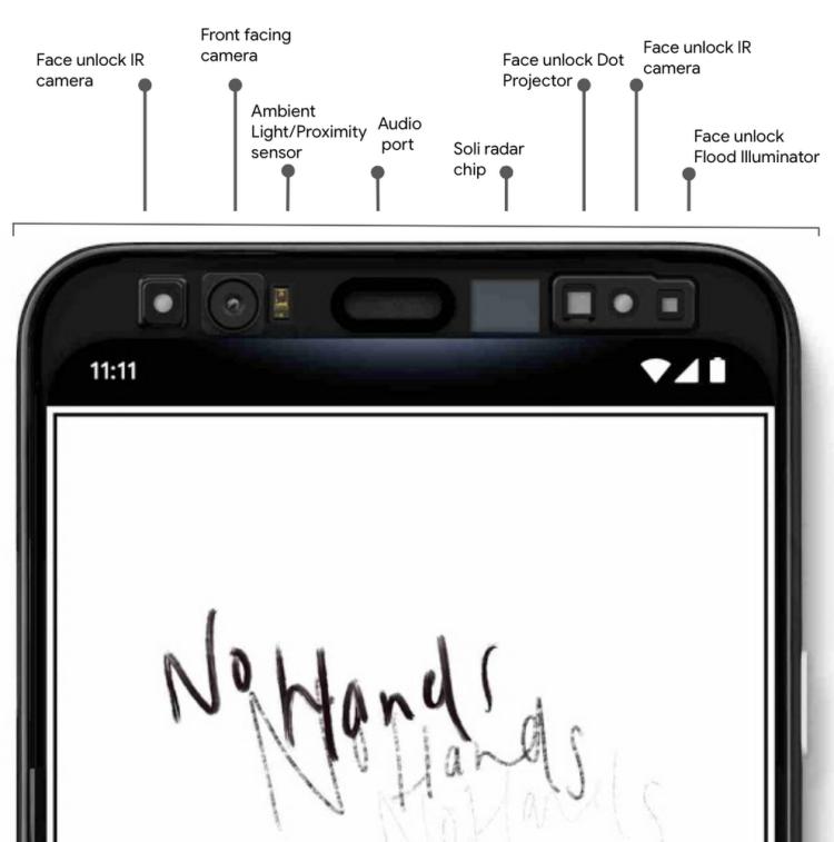 Pixel 4 用户可以用人脸完成 app 登陆、支付等操作。和 iPhone 有 T 系列安全芯片一样,Pixel 4 的人脸数据也会保存在一块专门的安全芯片 Titan M 里面