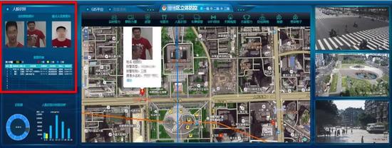 某市公安采用包含视频数据结构化的立体防控系统对重点区域的综合治理
