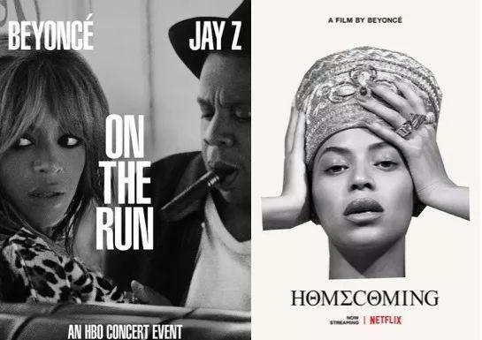 往年和HBO合作的Beyonce今年转投Netflix,后者开出了6000万美元的高价