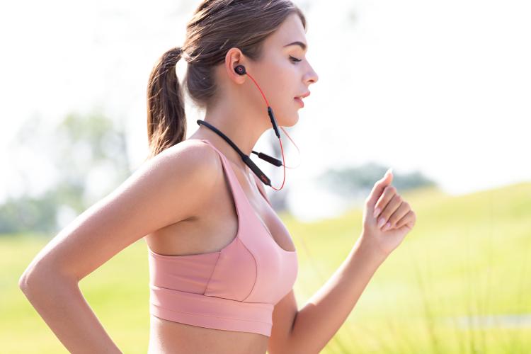 dyplay颈挂式无线降噪耳机