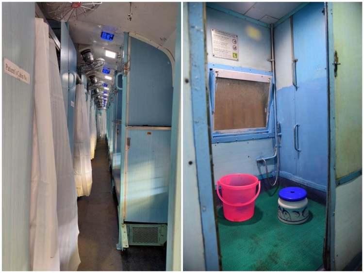 改造后的通道和厕所
