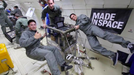 图 Made In Space在国际空间站的打印机,图片来自网络