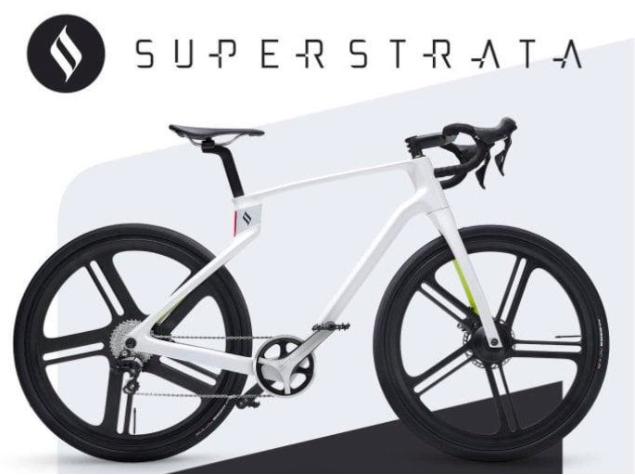 图 superstrata一体式3D打印电动自行车,图片来源于官网