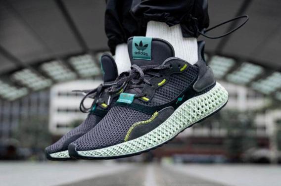 图 使用3D打印技术生产的阿迪达斯Futurecraft 4D跑鞋,图片来源于网络