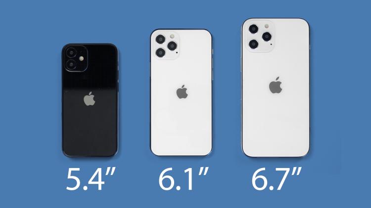 iPhone 12 示意图,来自 macrumors
