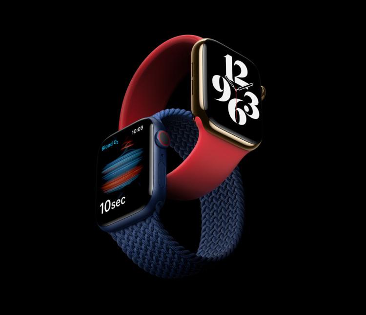 全新Apple Watch Series 6