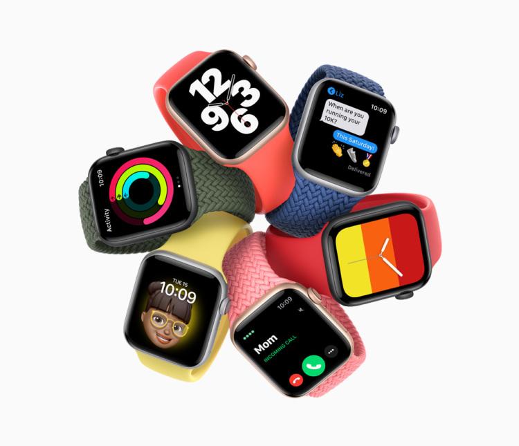 全新Apple Watch SE