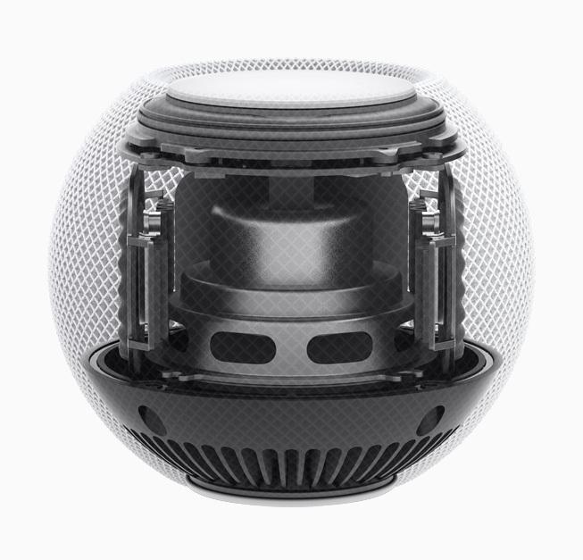 特殊设计保证了 HomePod 音质