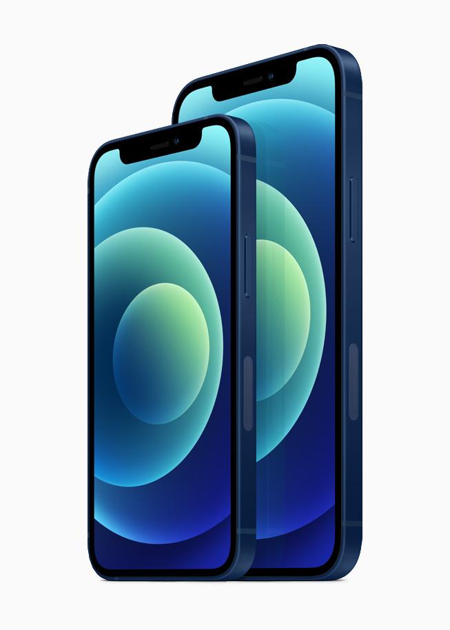 此次 iPhone 12/iPhone 12 mini 也用上了 OLED 屏