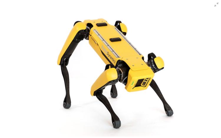 波士顿动力 Spot 机器人。