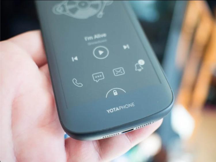 YotaPhone 的副屏