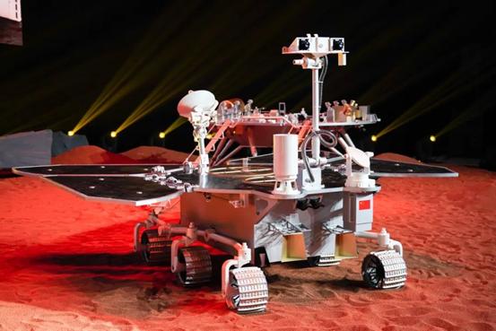 我国火星车模型(来源:网络)