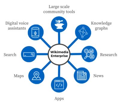 维基LLC的业务模式的纵览图