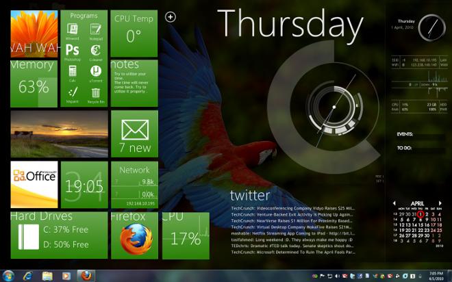 desktop-first