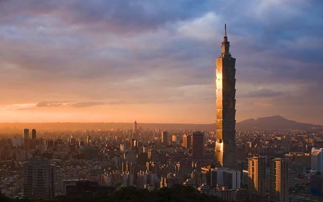 ??101, ???? (Taipei 101 and skyline, Taipei, Taiwan)
