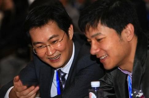 马化腾和李彦宏