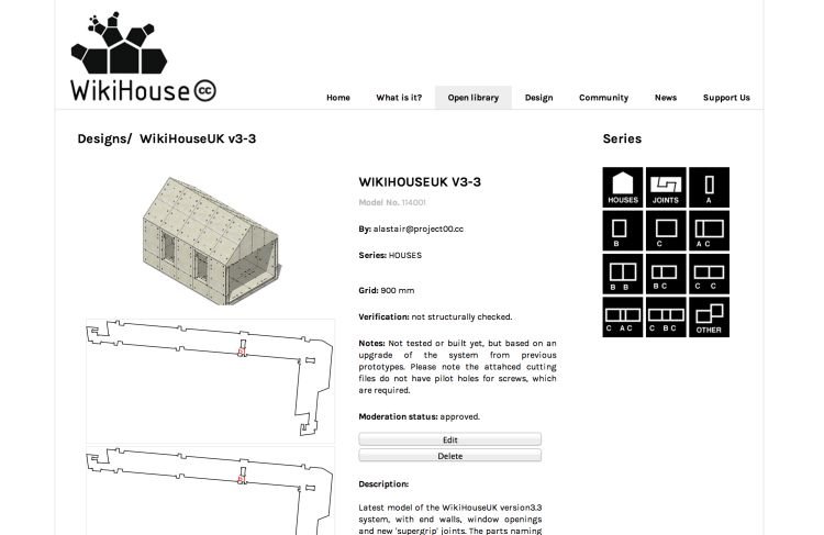 WikiHouse_website