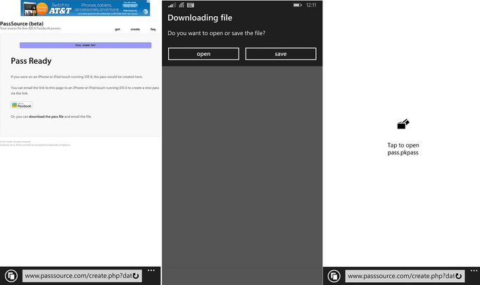 Apple-Passbook-Windows-Phone-8.1-Microsoft-Wallet-screenshots