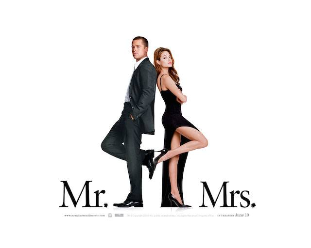 Mr and Mrs Smith smaller