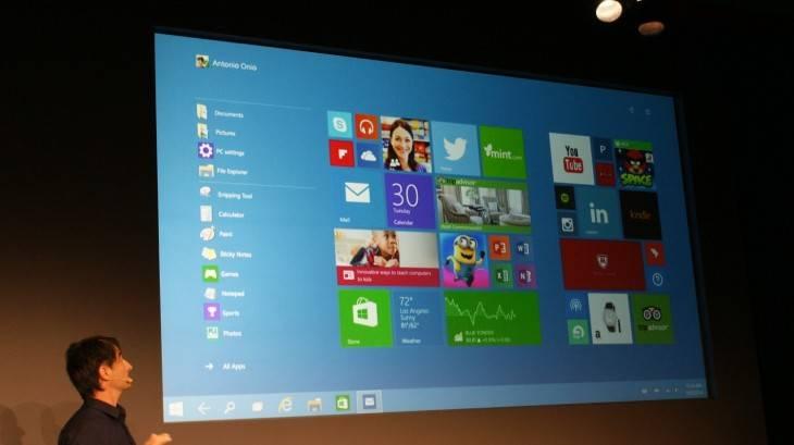 Windows 10 Continuum mode