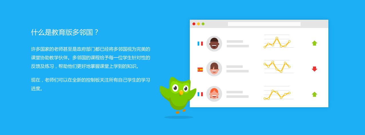 你可以用多邻国来上外语课了
