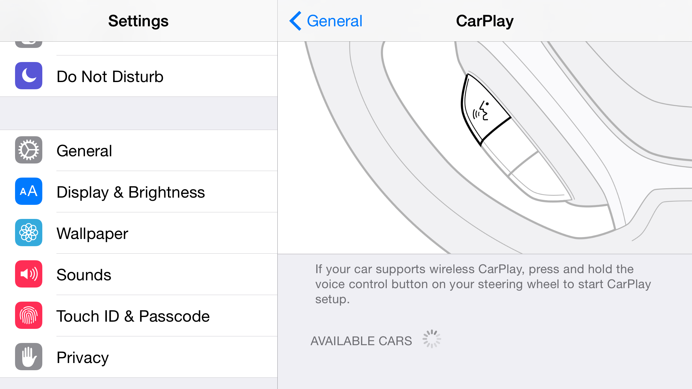 iOS 8.3 CarPlay