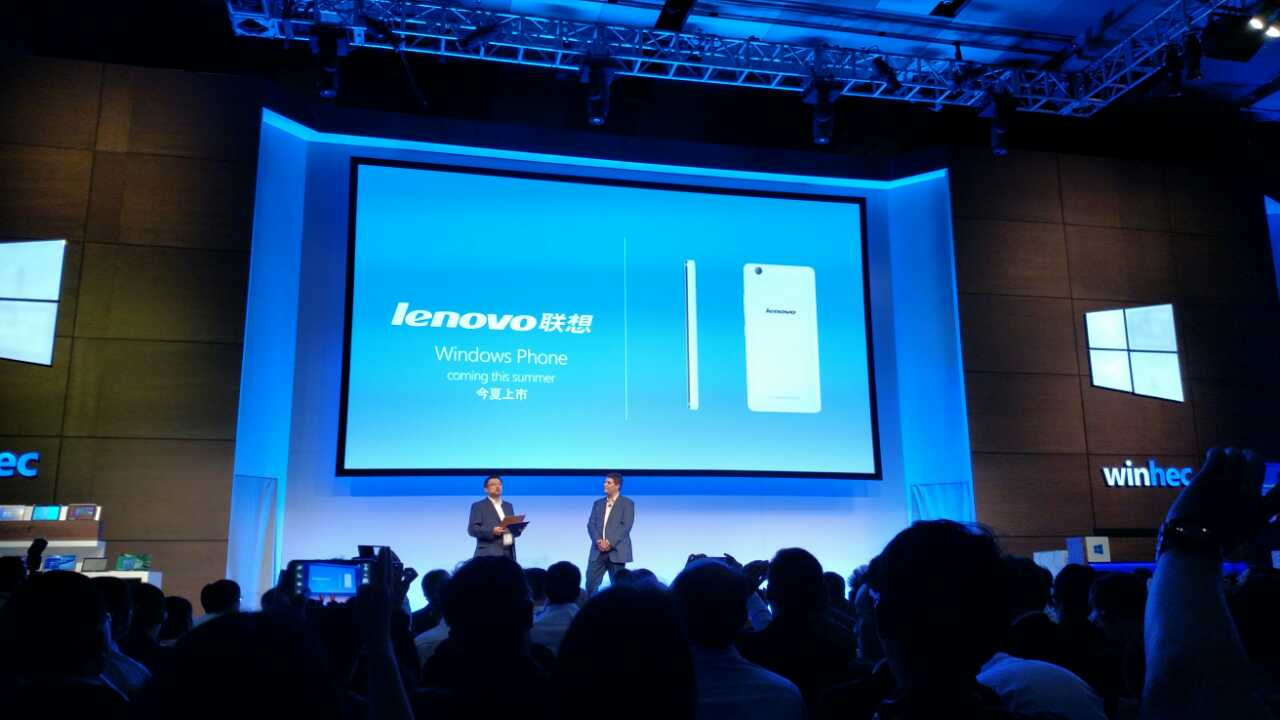 Windows Phone Lenovo