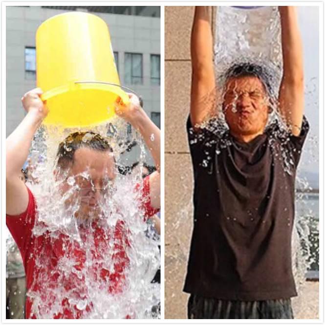 周鸿祎和刘作虎参与冰桶挑战