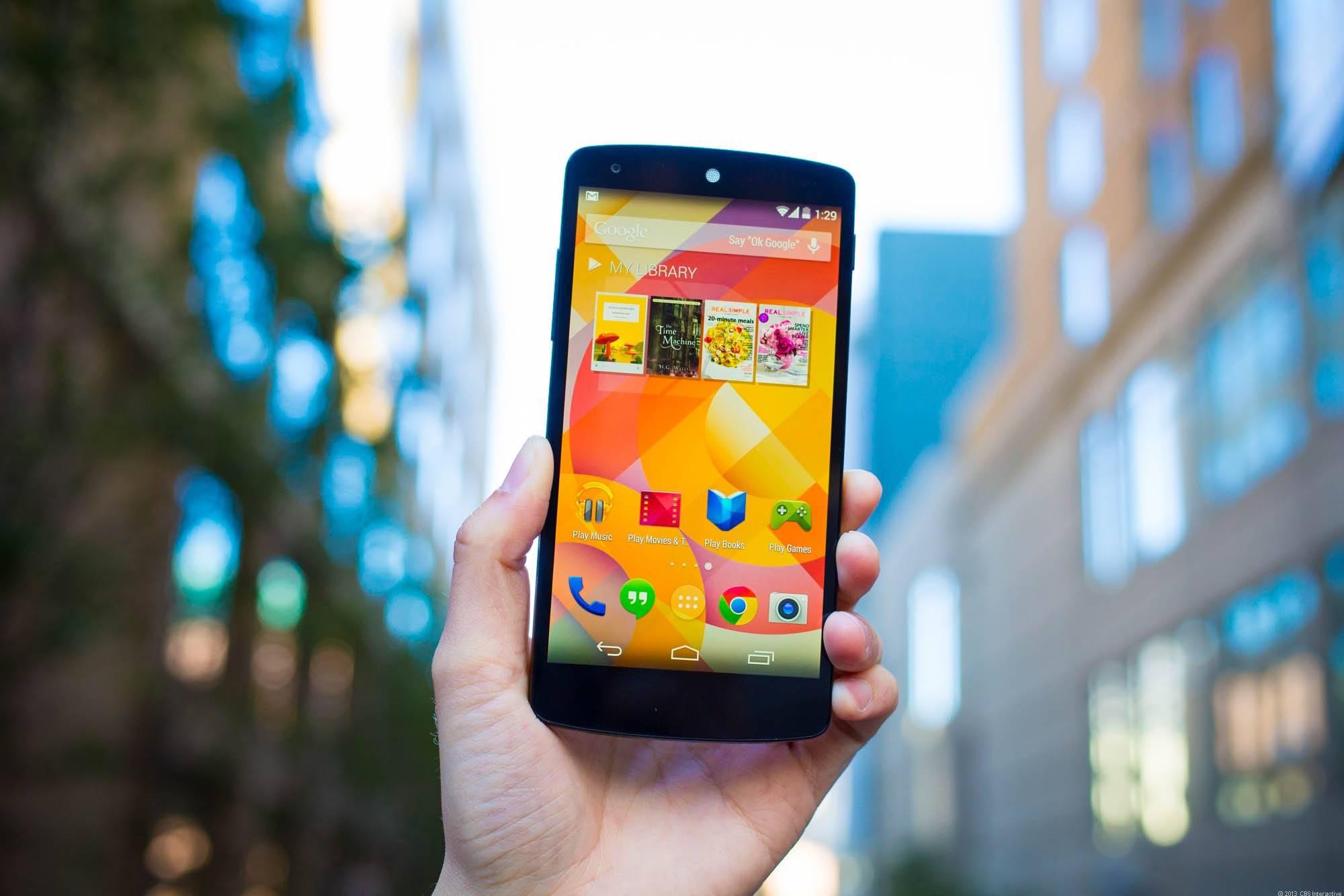 LG的复刻版Nexus 5长这样!