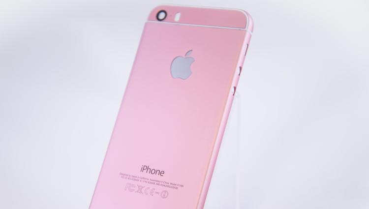 粉色iPhone?¯\_(ツ)_/¯