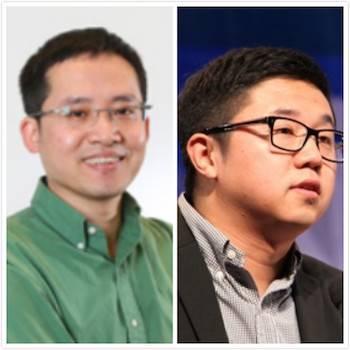 左:张建锋;右:王煜磊