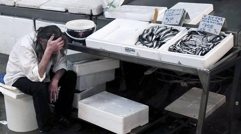 雅典的水产市场